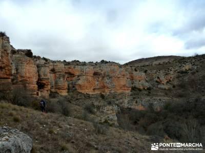 Hoces y cañones del Río Piedra y del Río Gallo -- Laguna Gallocanta - Viaje de trekking;grupos tr